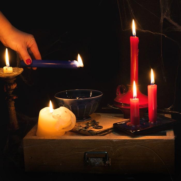 Свеча желаний на исполнение задуманного
