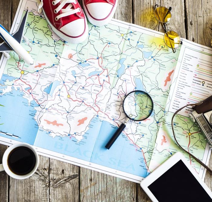 Личный гороскоп переезда, путешествия или временный переезд по работе