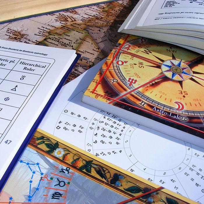 Астрологическая карта рождения по Формуле Души